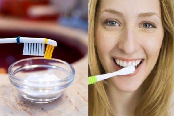 Как правильно чистить зубы пищевой содой: польза и вред