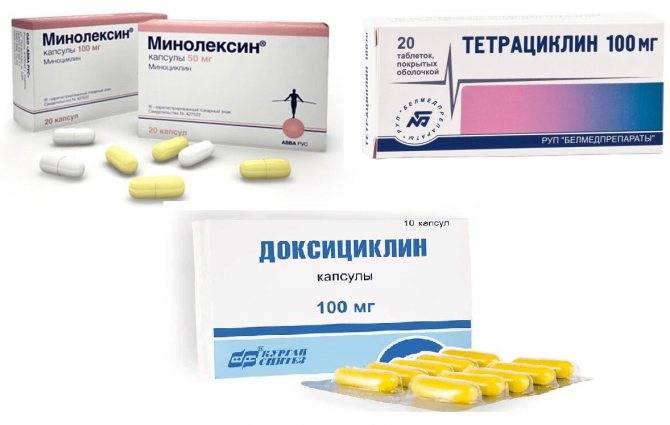 Задержка из-за антибиотиков