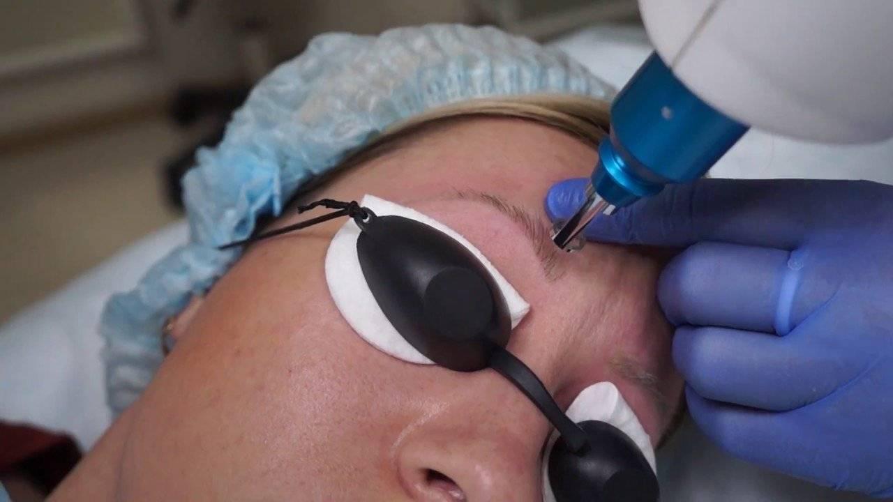 Пудровые брови: уход после процедуры