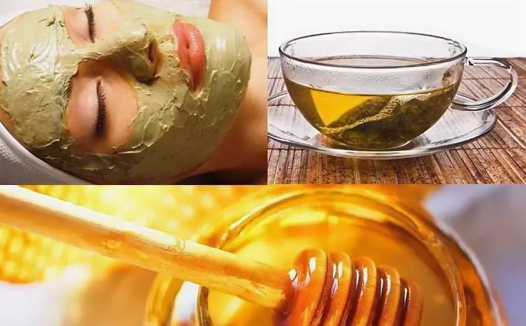 Медовые маски с куркумой для лица