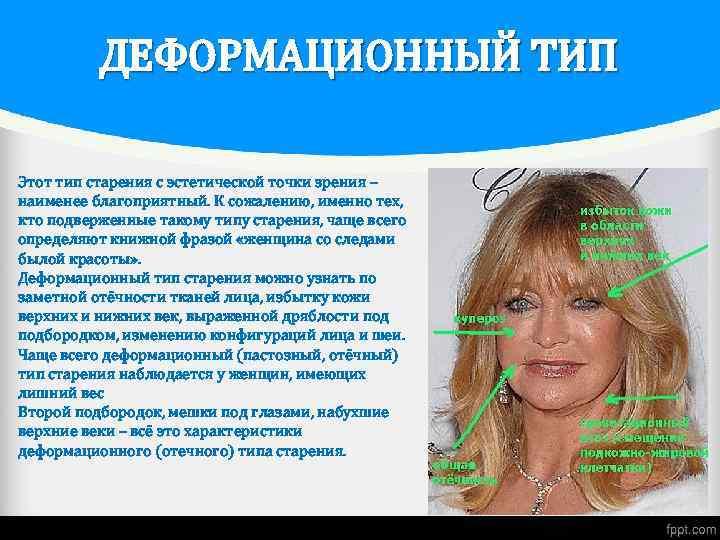 Преждевременное старение кожи лица у женщин, признаки, причины как предупредить увядание