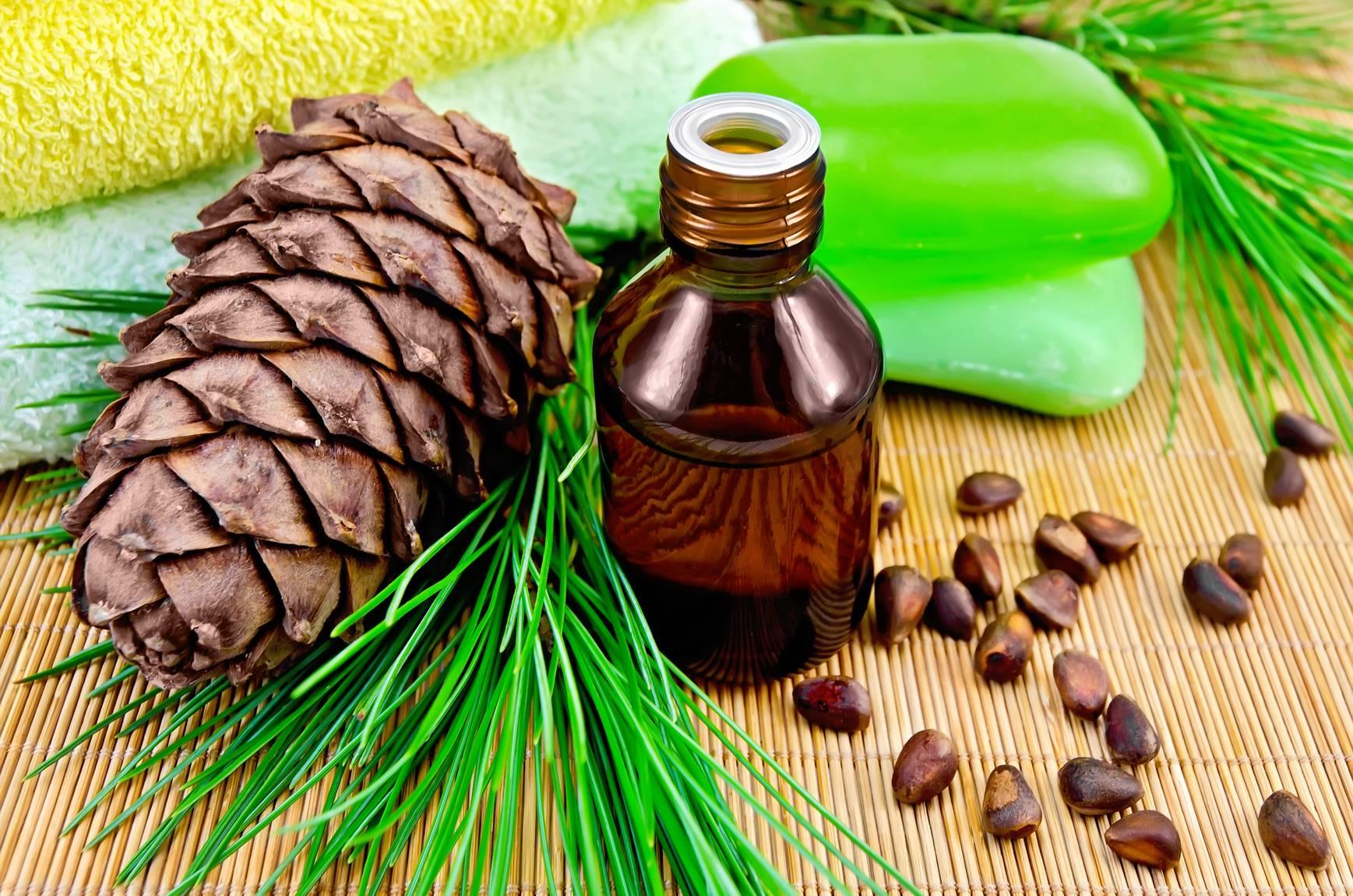 Эфирное масло сосны для лица
