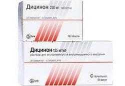 Дицинон — правильный выбор при лечении маточных кровотечений