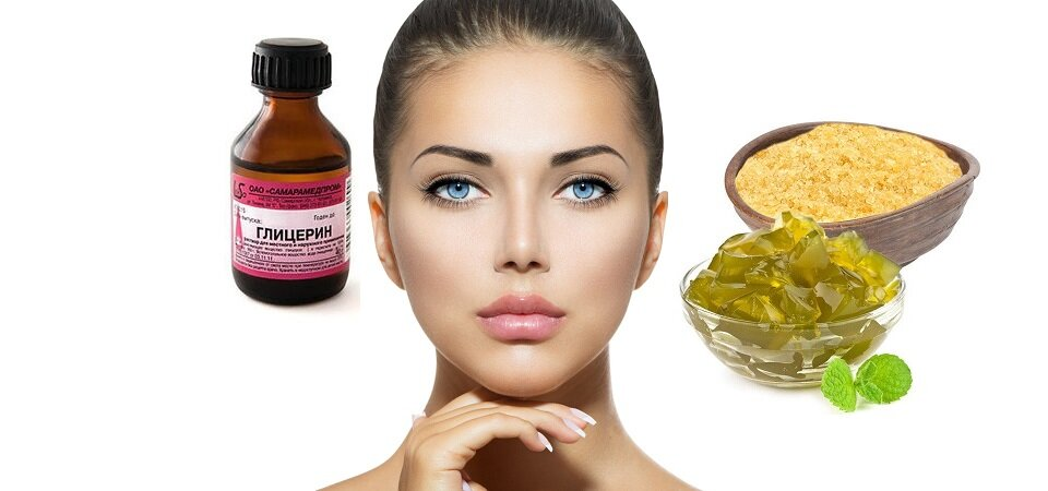 Рецепты применения глицерина для лица