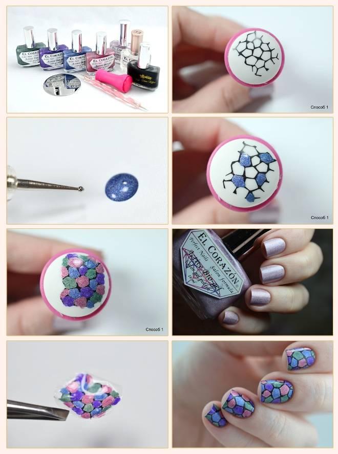 Как делать стемпинг на ногтях правильно гель-лаком пошагово с фото