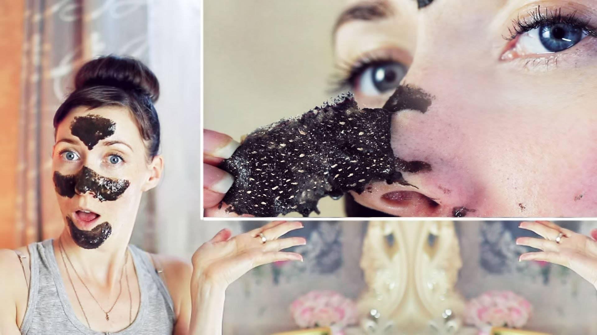 Маска пленка для лица в домашних условиях от черных точек. пленочные маски