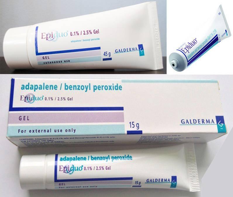 Используем крем адаклин при проблемной коже лица