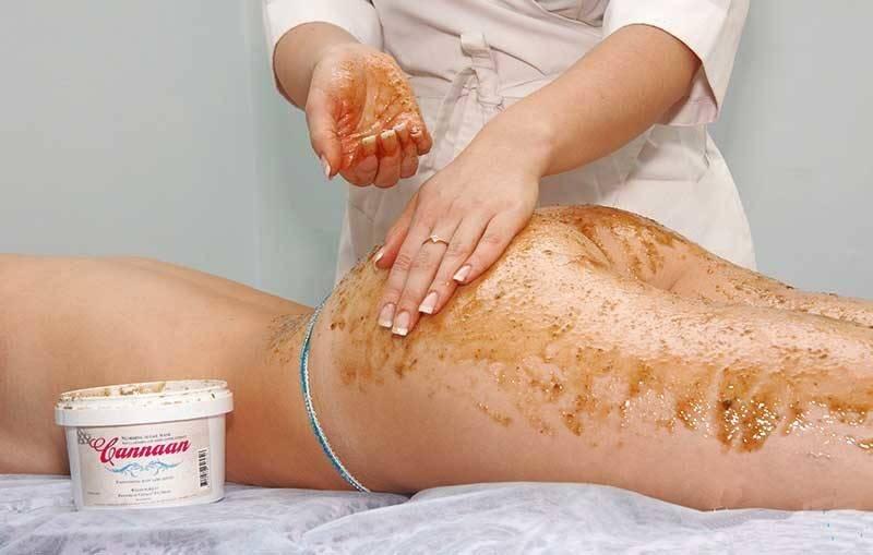 Антицеллюлитный массаж с мёдом