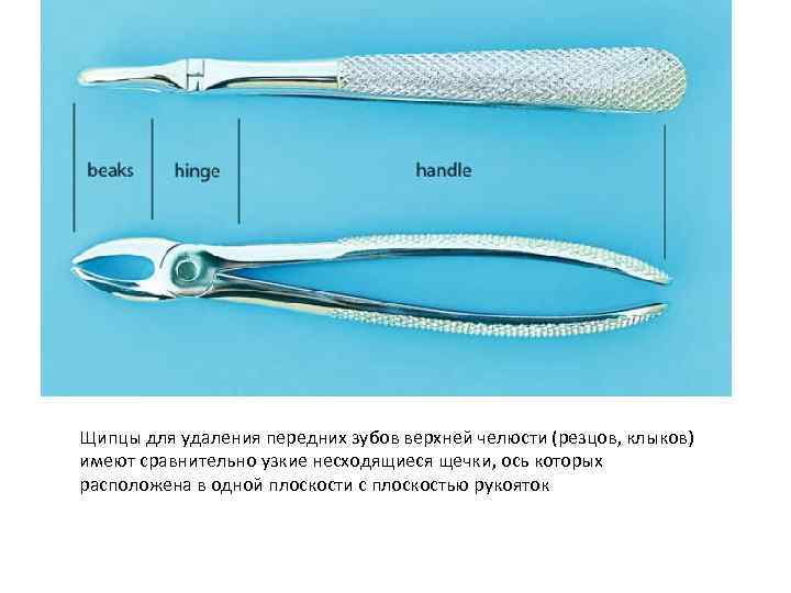 Элеваторы для удаления зубов
