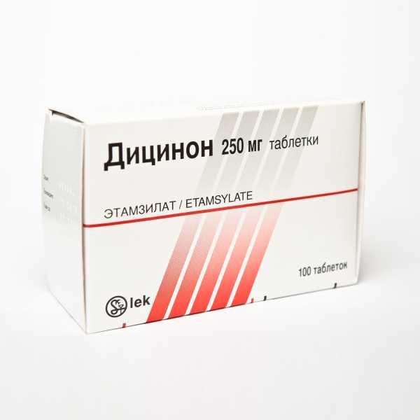Дицинон: как принимать при маточных кровотечениях, инструкция по применению