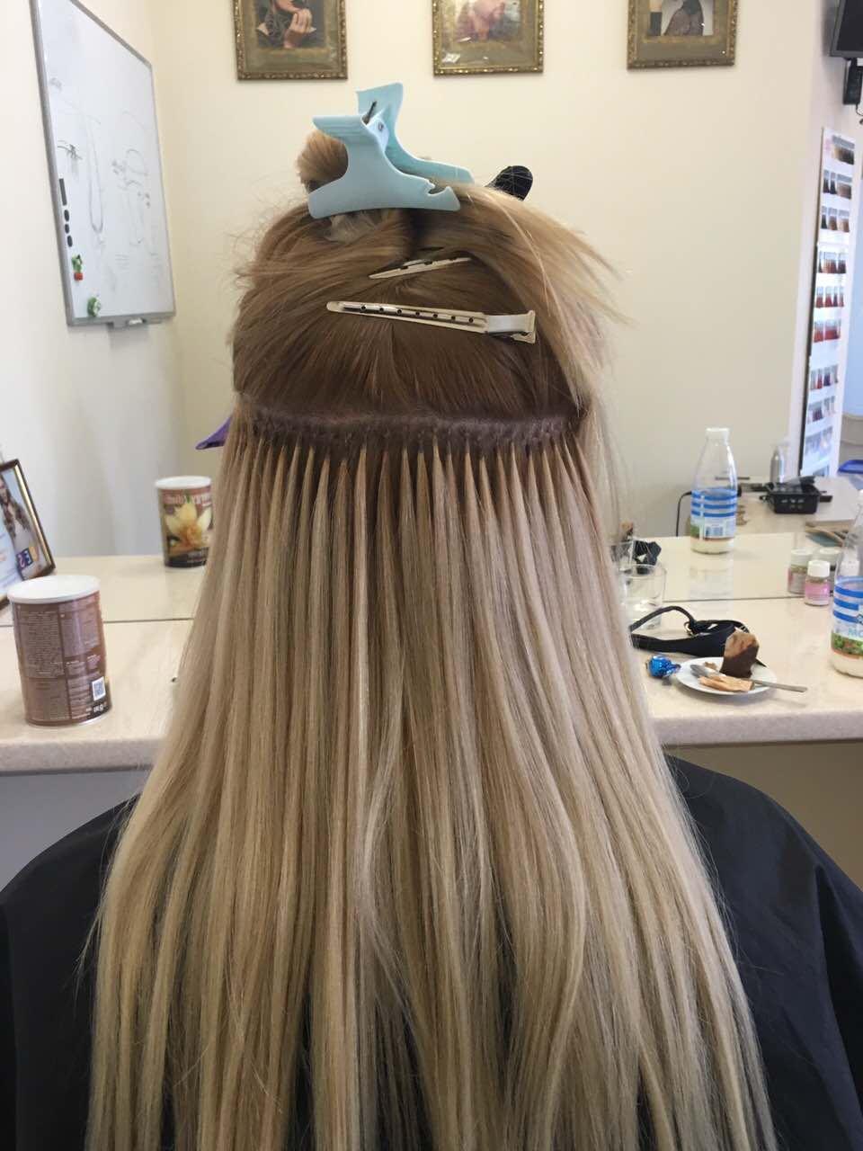 Как правильно наращивать волосы на капсулах