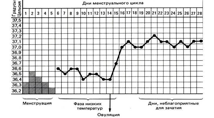 Причины повышенной температуры во время месячных