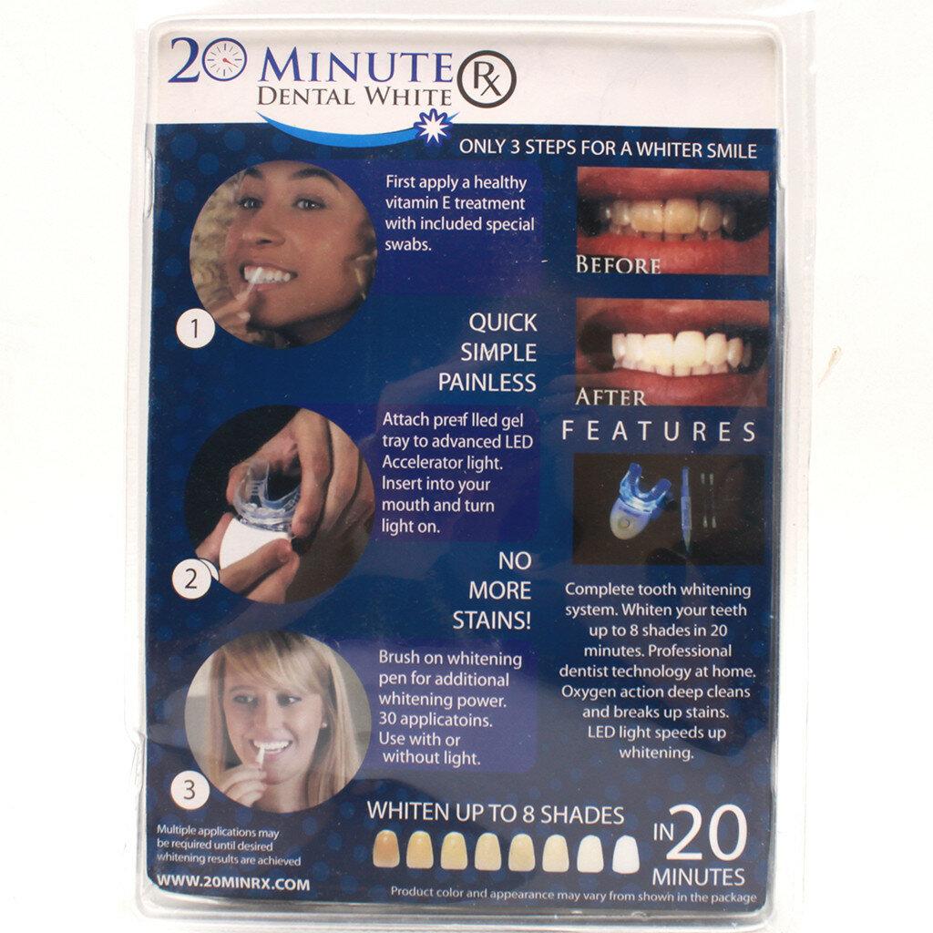 Домашняя система отбеливания зубов white light: инструкция, отзывы