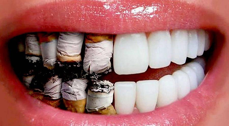 Болит язык после курения