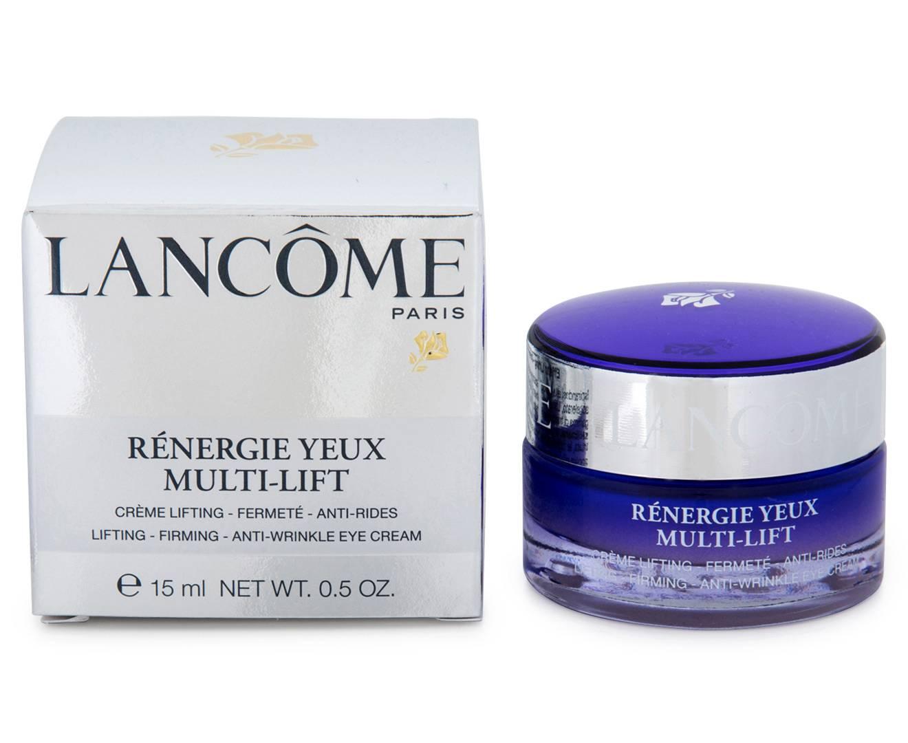 Lancome renergie multi lift (ланком мульти лифт) – крем для лица и кожи вокруг глаз, косметика активатор молодости