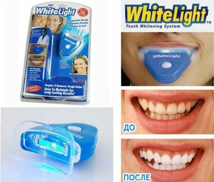 Домашняя система отбеливания зубов white light: инструкция, отзывы. white light отбеливание зубов