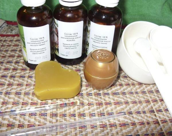 Как приготовить крем на основе пчелиного воска в домашних условиях