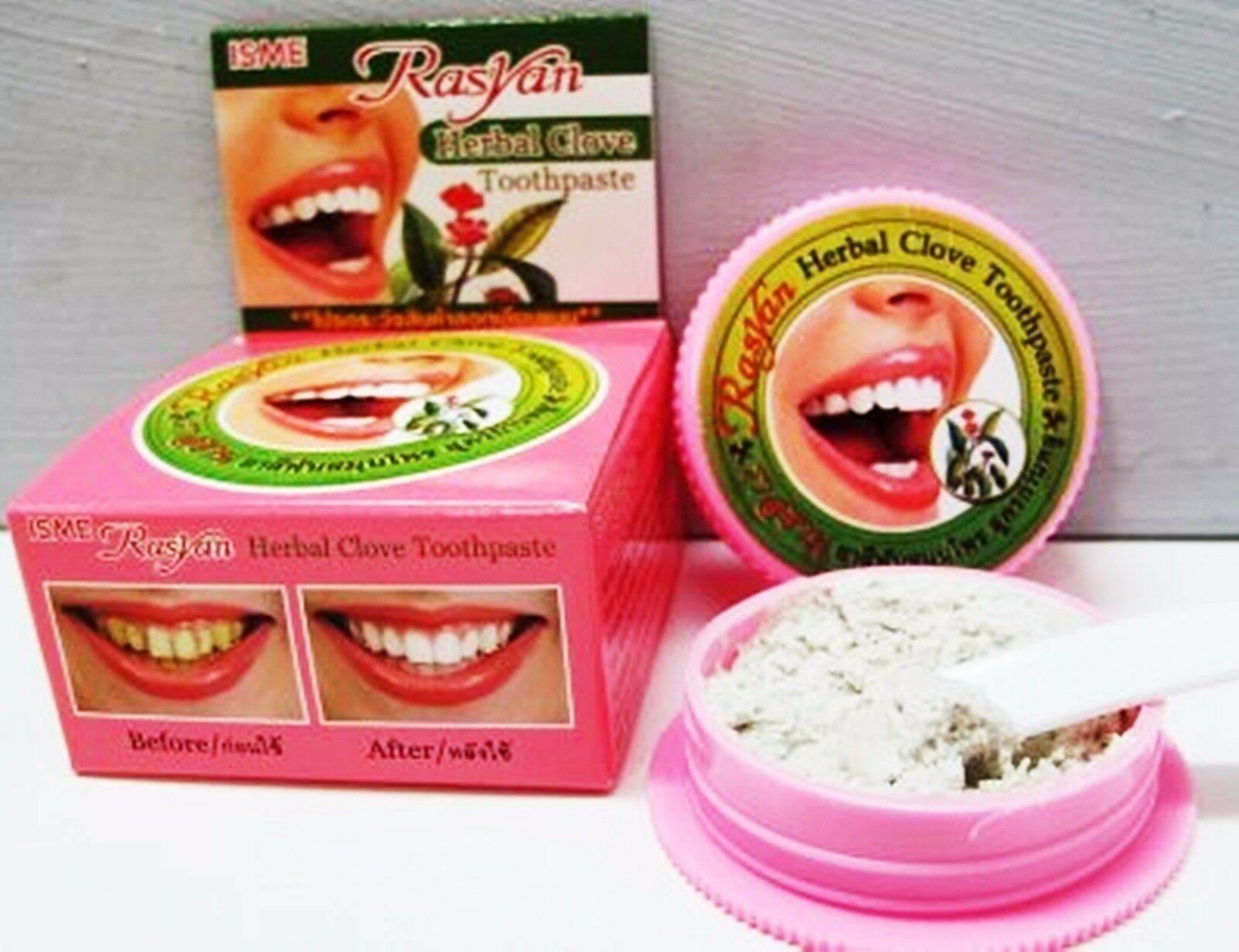 Зубная паста из таиланда: описание разновидностей, нюансы применения