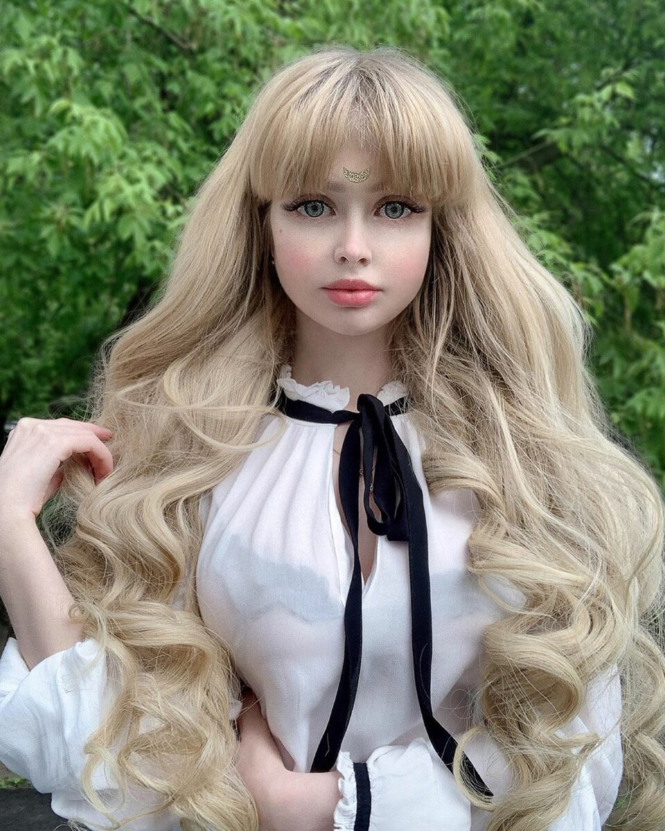 """""""живые барби"""": как выглядят девушки с кукольной внешностью"""