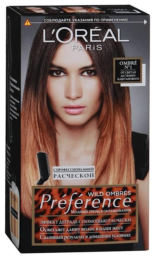Специальная краска для волос лореаль омбре