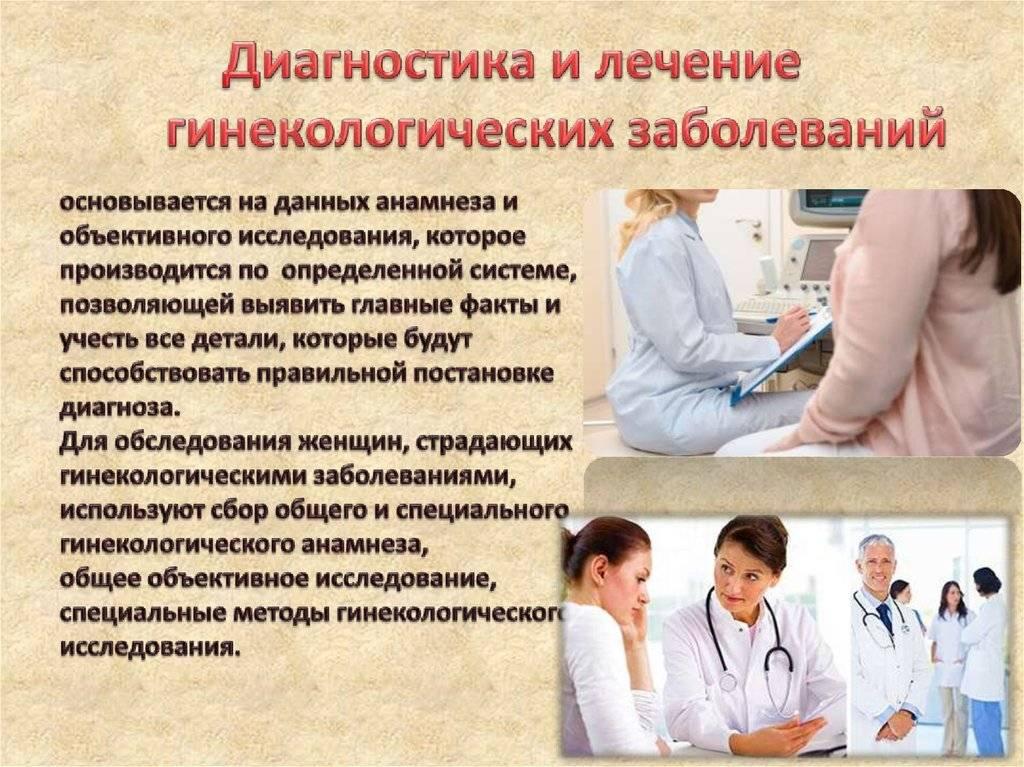 Патология шейки матки: диагностика, лечение