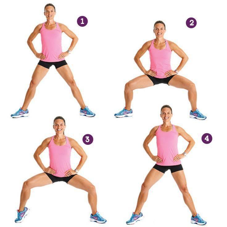 20 лучших упражнений, чтобы убрать жир и подтянуть мышцы внутренней части бедра в домашних условиях