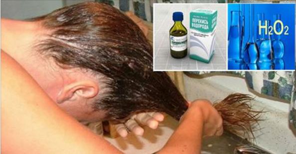Удаление нежелательных волос перекисью водорода