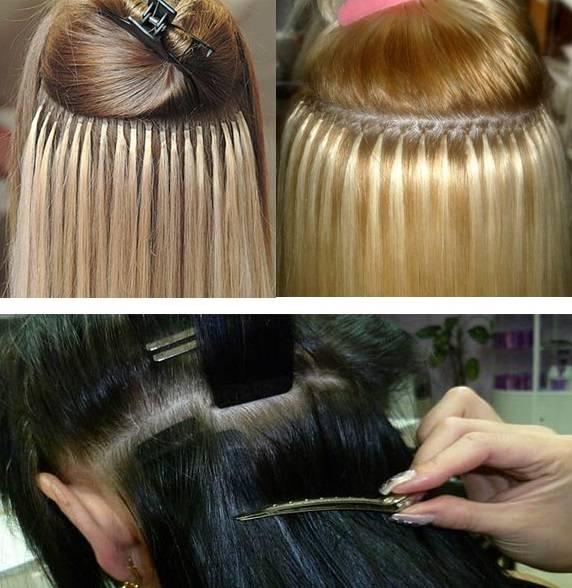Горячее наращивание волос и его особенности