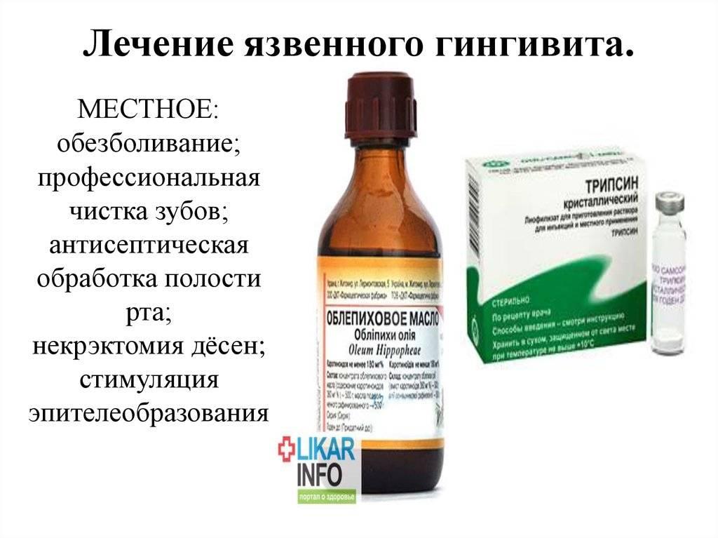 Лечение пародонтита с помощью антибиотиков и других лекарственных препаратов