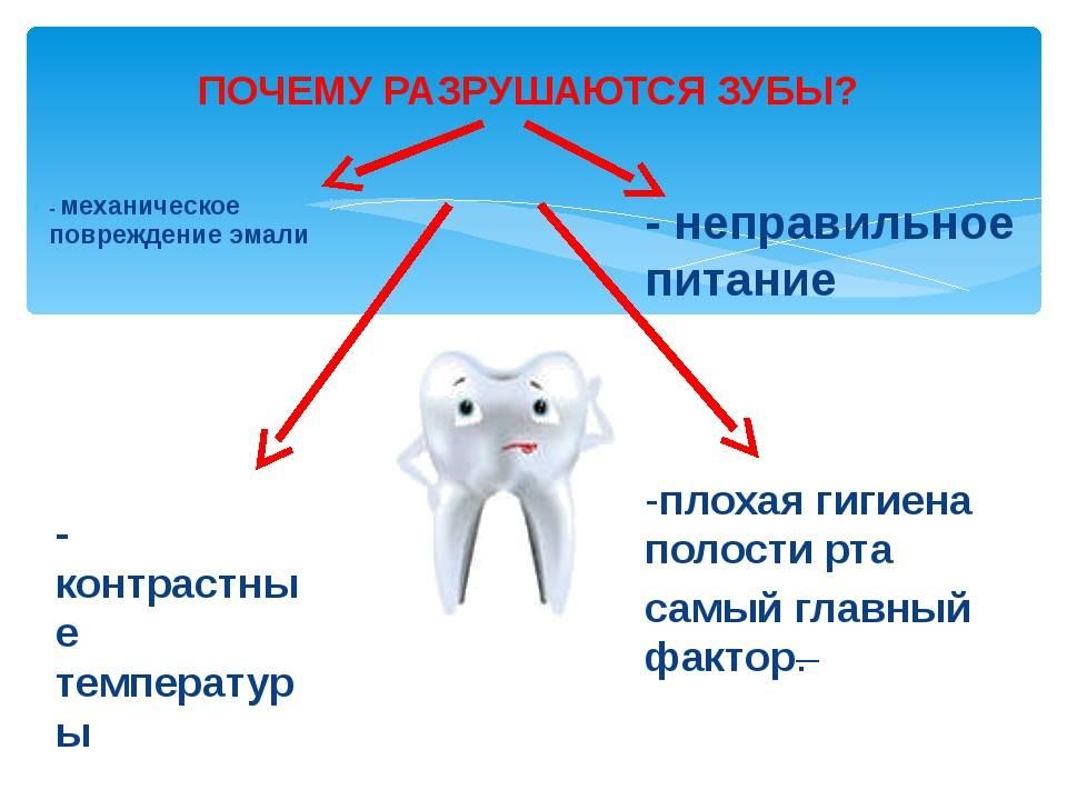 О чем говорит потемнение зубов у взрослых и детей?