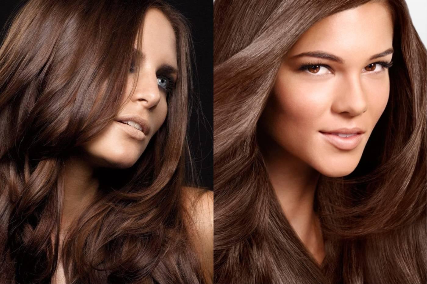 Темный цвет волос: оттенки, краска, прически, макияж для брюнеток