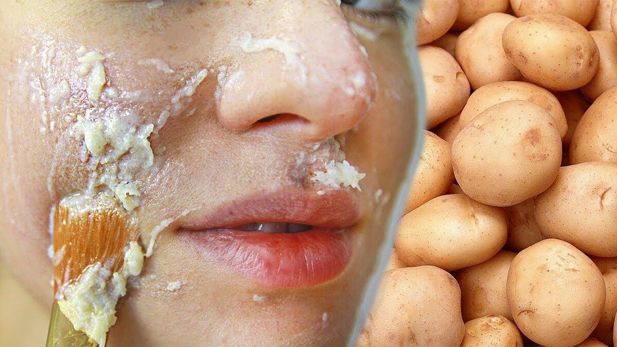 Маска для лица из картофеля, рецепты