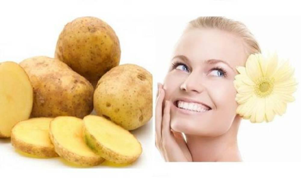 Маски из картофеля для лица