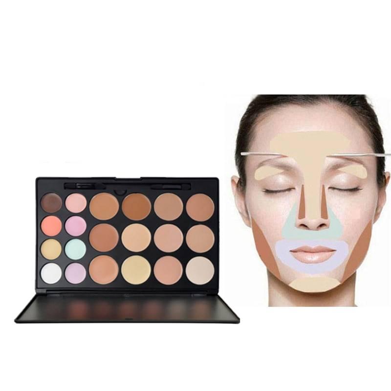 Как пользоваться корректором для лица палитра 15 цветов пошагово. палетка консилеров: какой цвет — для чего?