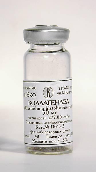 Таблетки коллагеназа для лечения болезни пейрони