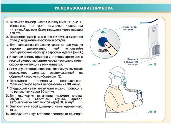 Применение хлорофиллипта для ингаляций в небулайзере