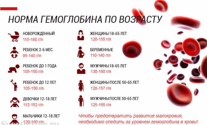 На сколько падает или повышается гемоглобин во время месячных