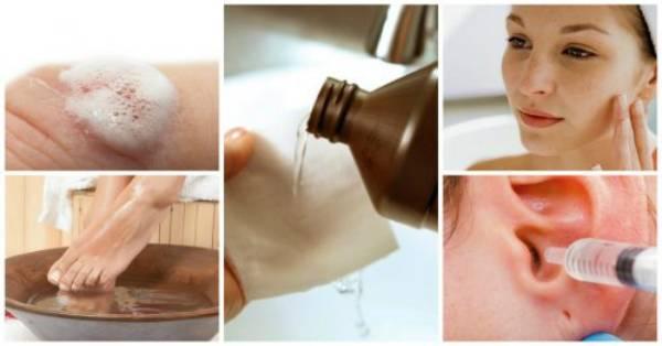 Как провести удаление волос перекисью водорода?