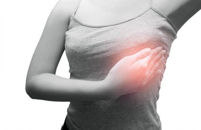 Боли и спазмы в груди: причины и способы снятия