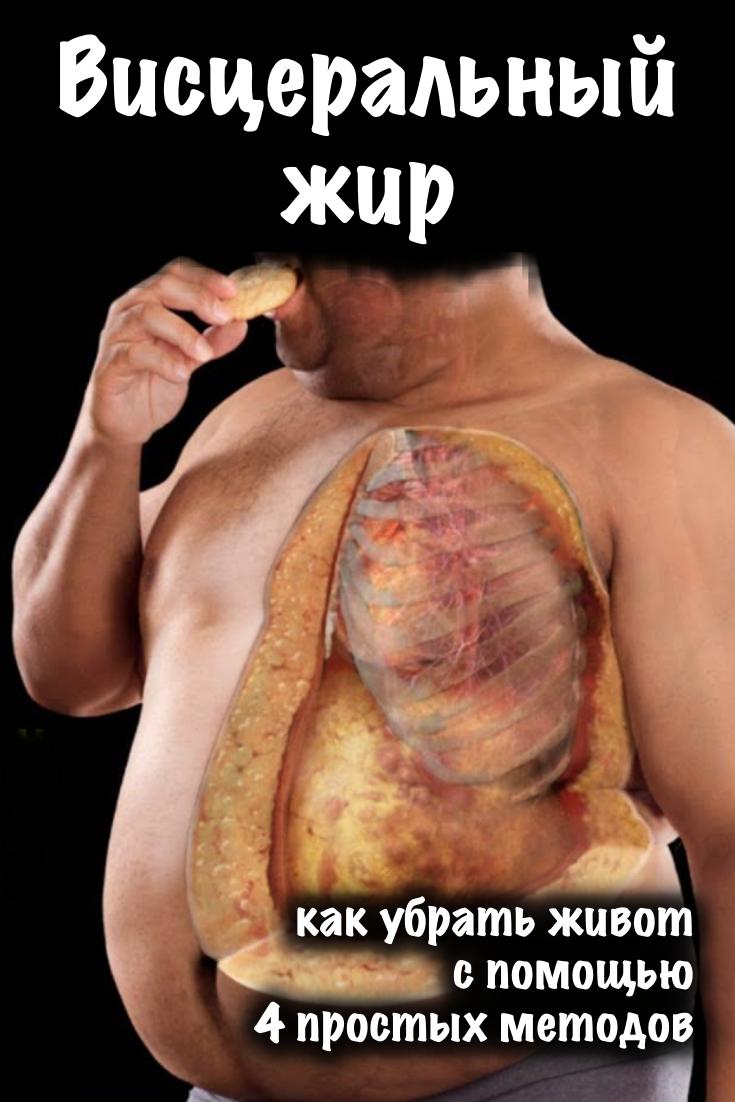 Как убрать подкожный жир с живота — советы по питанию и тренировкам