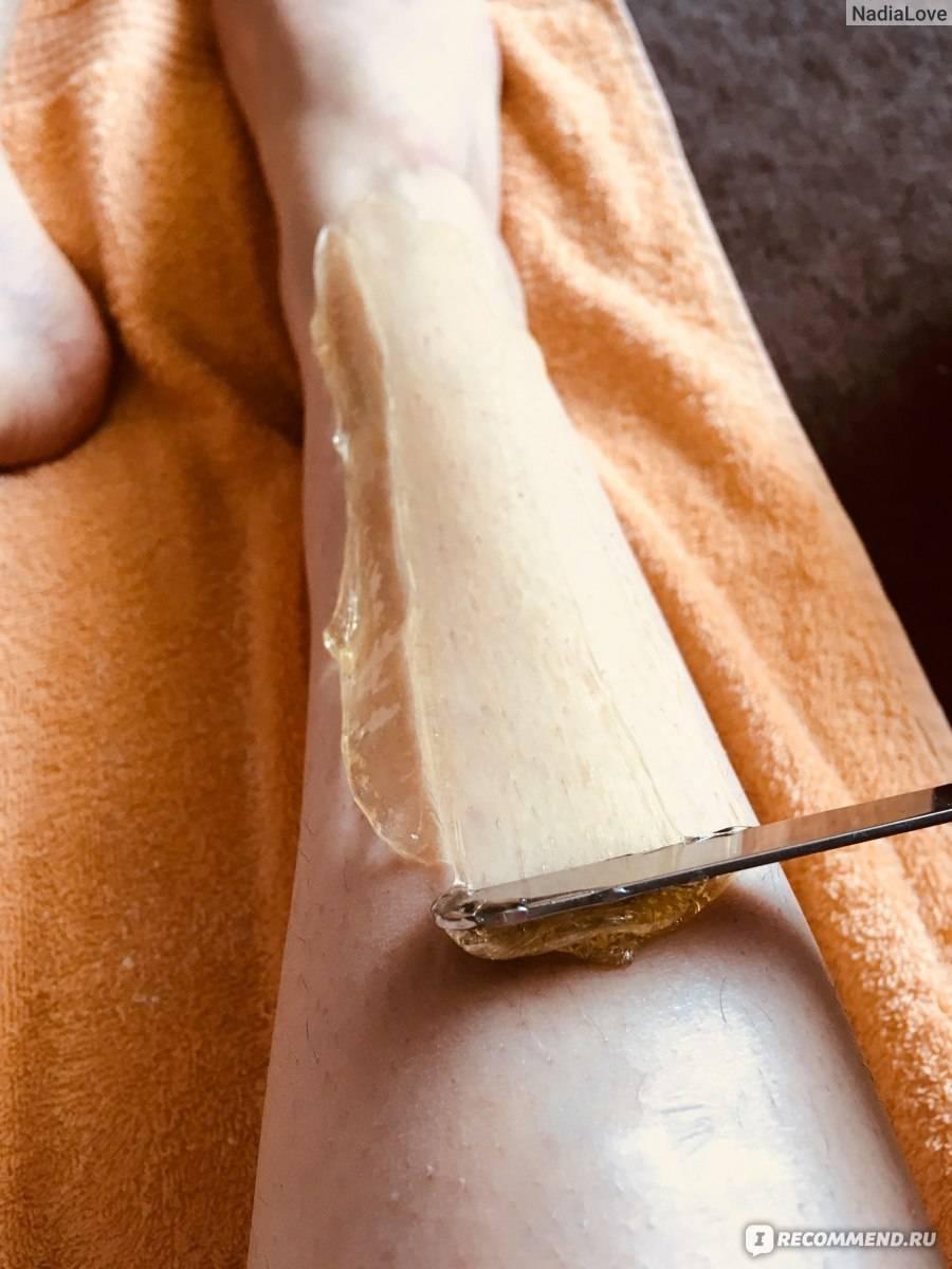 Самостоятельный шугаринг глубокого бикини в домашних условиях