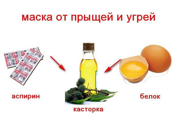 Помогает ли касторовое масло от прыщей?