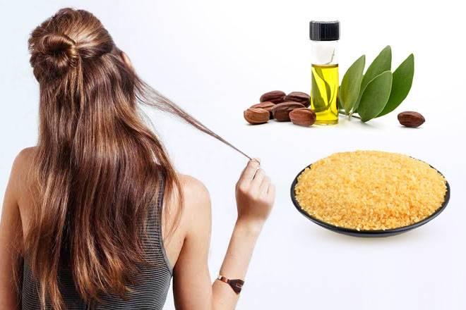 9 рецептов лучших масок для густоты волос