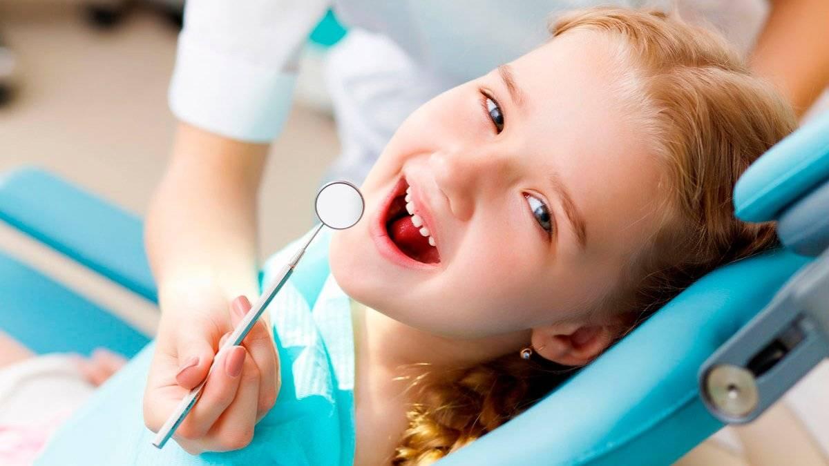 Фторирование молочных зубов у детей