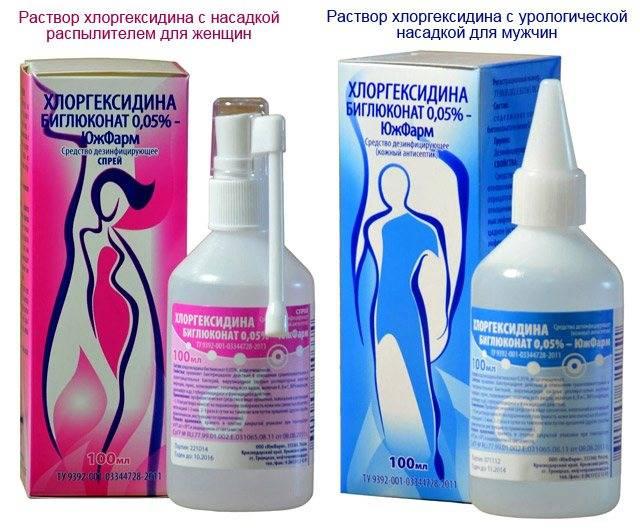 Хлоргексидин — применение в гинекологии
