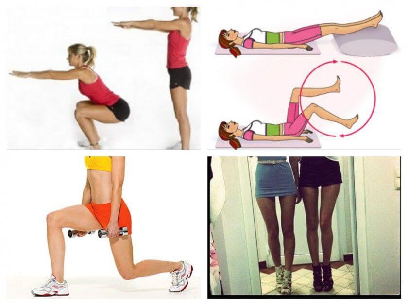 Как уменьшить икры на ногах девушке