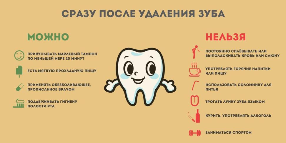 10 советов после удаления зубов