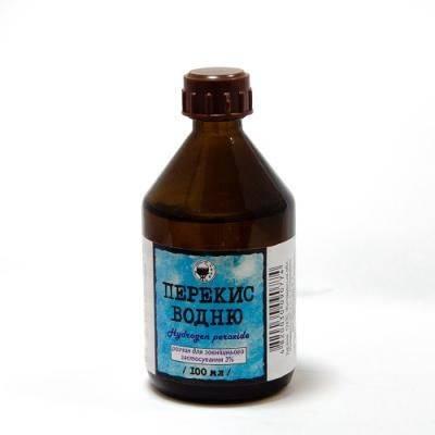 Перекись водорода при лечении стоматита у взрослых и детей