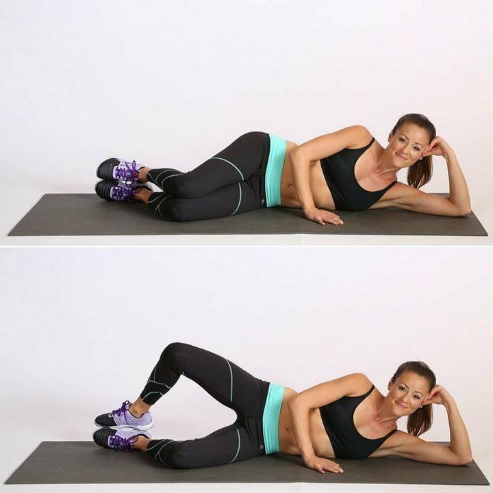 7 лучших упражнений для похудения икр ног для женщин и еще 3 метода уменьшения мышц голени