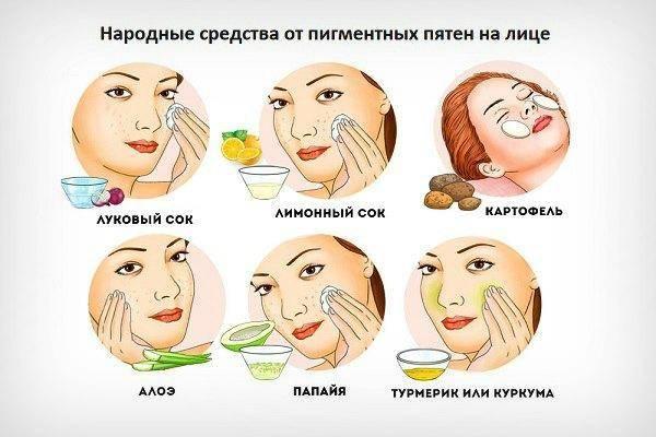 Как избавиться от пигментных пятен на лице быстро и навсегда: салон красоты в домашних условиях